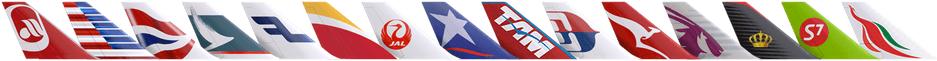 ワンワールド加盟航空会社一覧画像