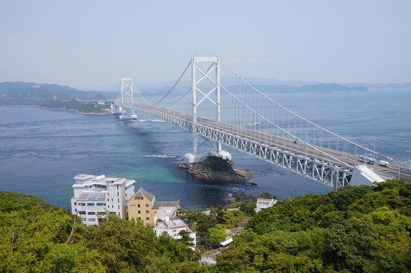 櫓からの大鳴門橋画像