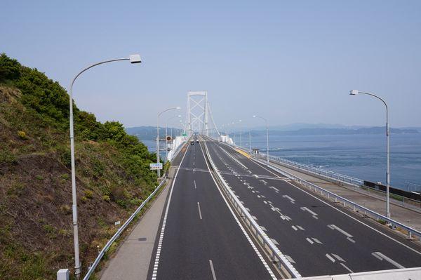 「日本の道100選」の大鳴門橋画像
