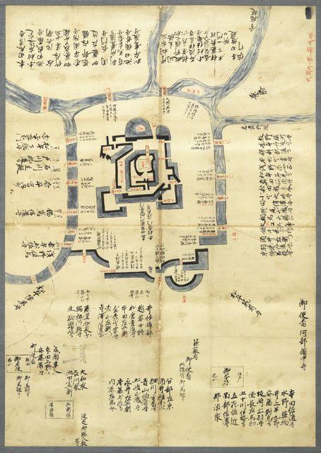大阪冬御陣之図(福井市立郷土歴史博物館蔵)