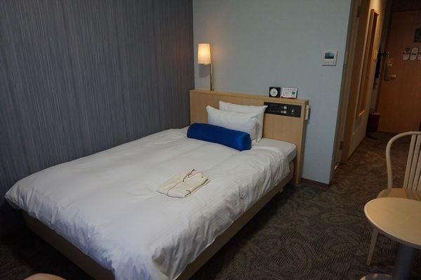 リッチモンドホテル那覇シングルルームベッド画像