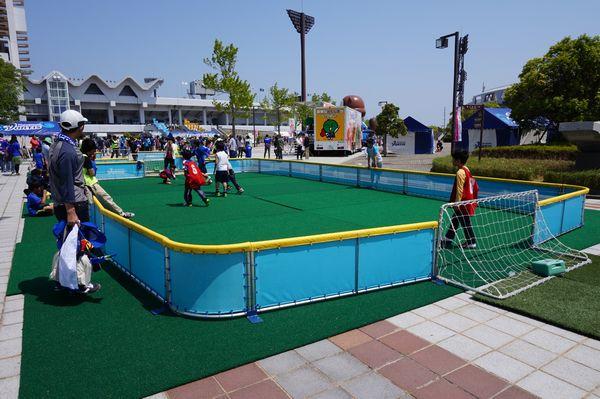 サッカーミニゲーム画像