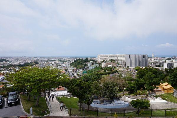 海軍司令部壕からの眺望画像
