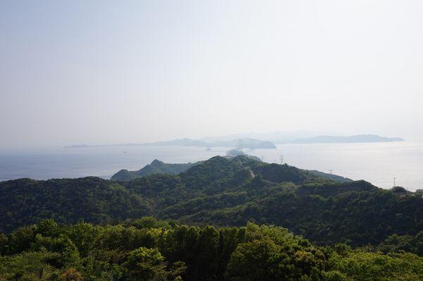 淡路島から鳴門海峡画像