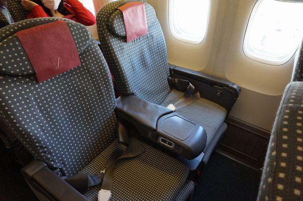 JAL1433便クラスJシート画像