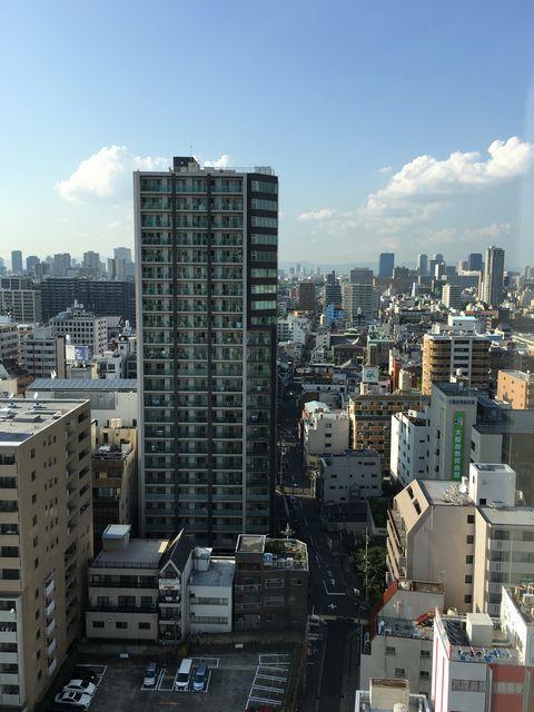 シェラトン都ホテル大阪から大阪城方面