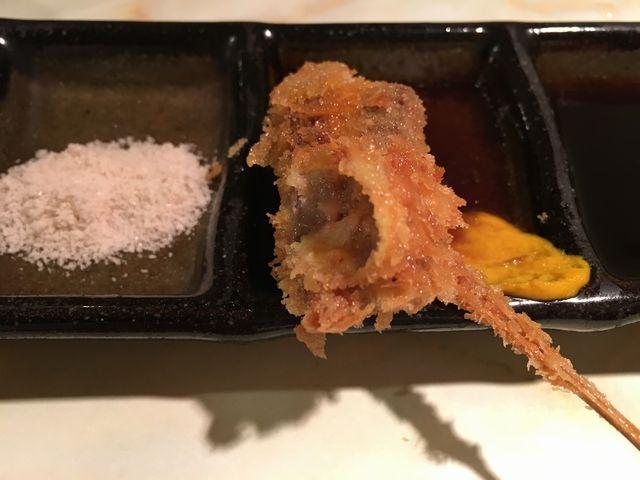 大阪うえしまの牛肉の豆板醤巻
