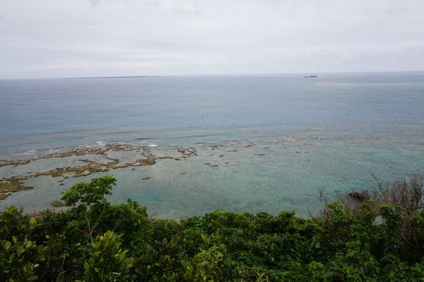 知念岬からの眺望画像