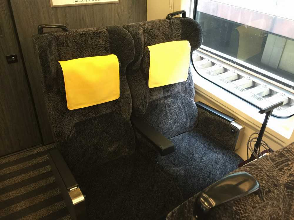 やまびこ・つばさ141号グリーン車座席画像
